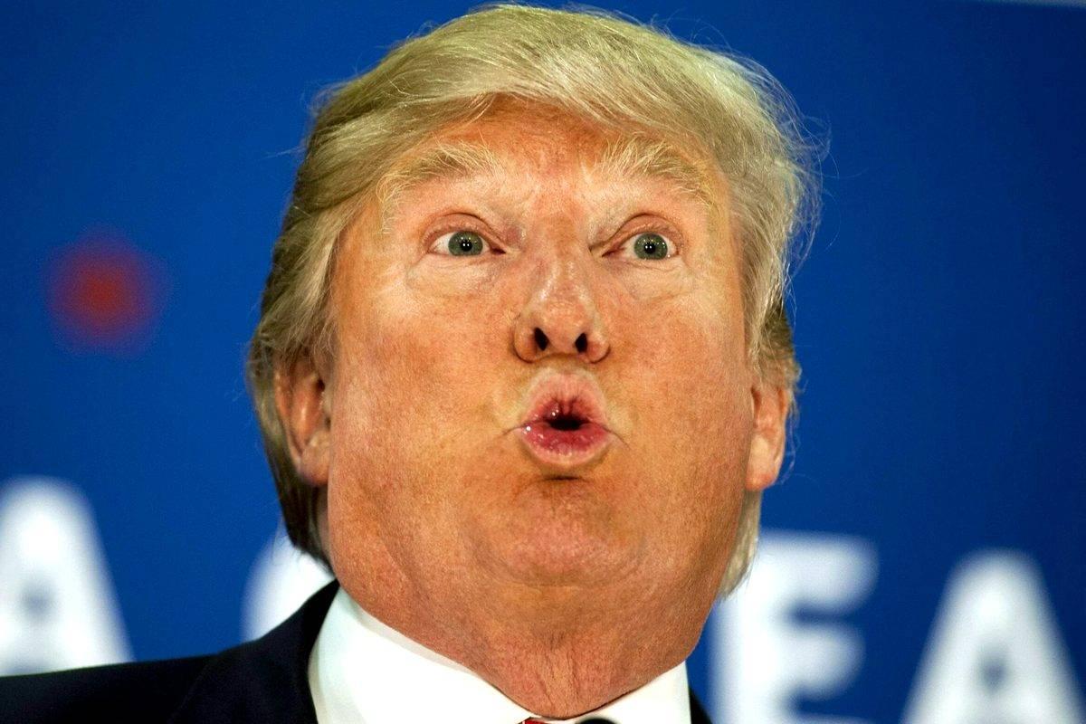 смешные картинки на тему трампа что