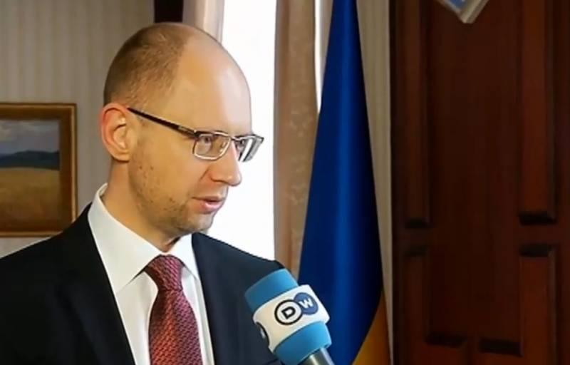Украинские СМИ: Яценюк бежал из страны
