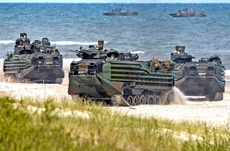 НАТО нагло прощупывает оборону Калининграда