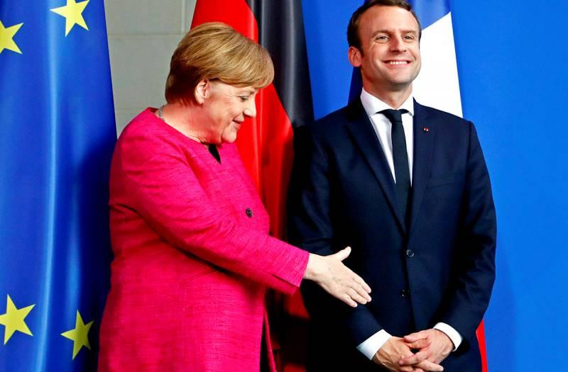 Меркель и Макрон делят Евросоюз