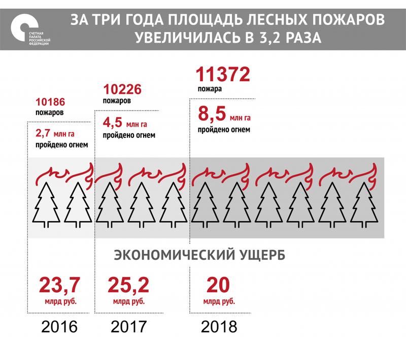 Se revelan los daños económicos de los incendios forestales en Rusia