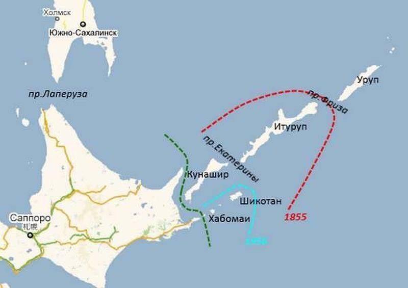 """Rusya haritaya """"Japon"""" Kurilleri ile tepki gösterdi"""