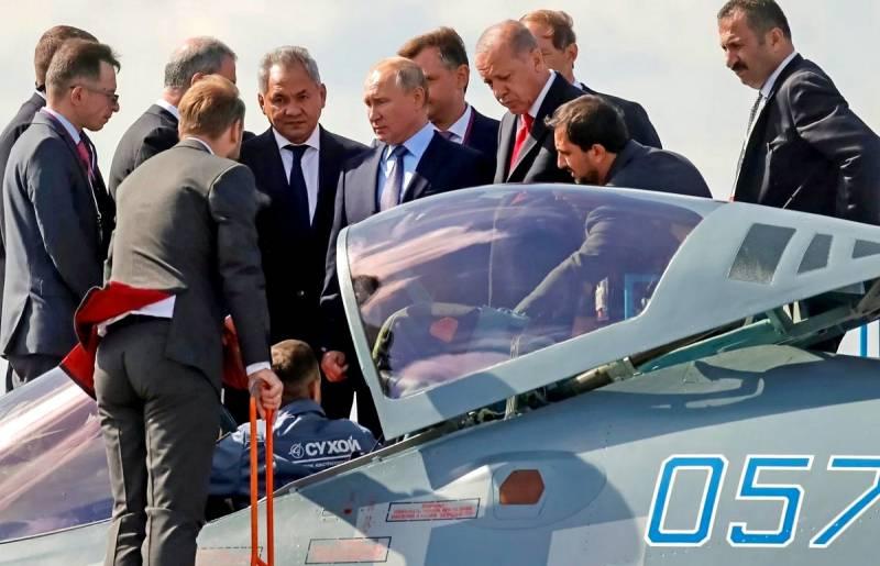 Су-57 для Турции: не совершит ли Россия ошибку?