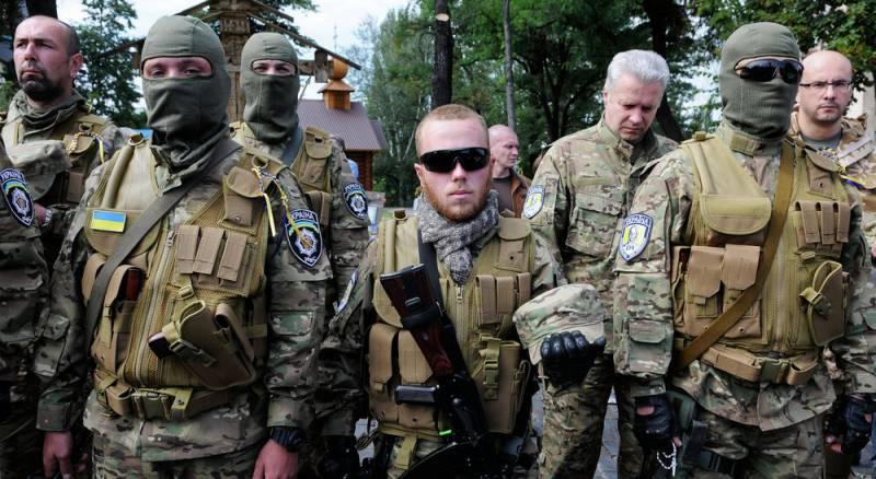 Украина разоружила добровольческие батальоны нацистов и кавказских боевиков