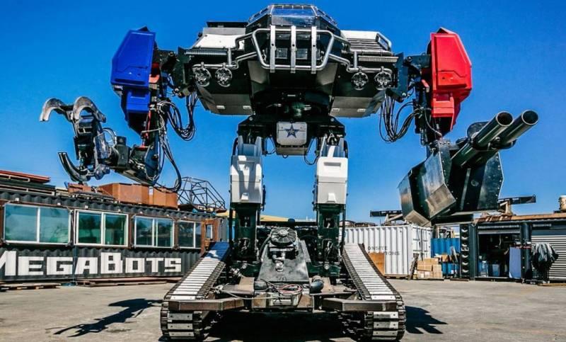 Американский MegaBot: большой, дорогой и ненужный