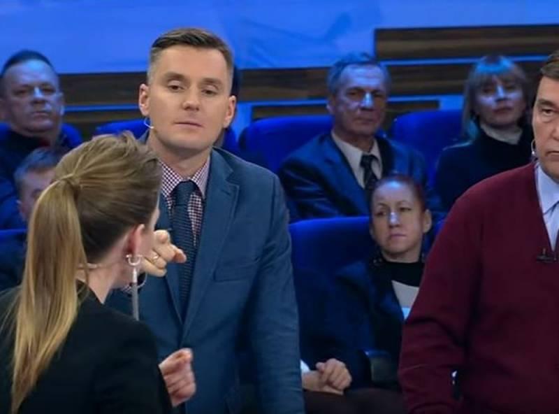 В студии «Россия-1» произошел скандал из-за украинских нацистов на Донбассе