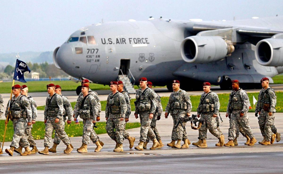 НАТО продолжает нагнетать обстановку у границ России. Военная база в польском Повидзе