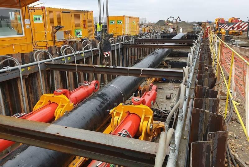 Сербские строители  «Турецкий поток» прошли отрезок от границы с Болгарией до границы с Венгрией в кратчайшие сроки, установив рекорд по скорости строительства