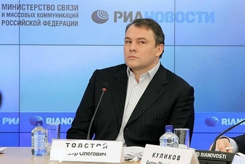Толстой поставил на место украинскую журналистку с вопросом «Чей Крым?»