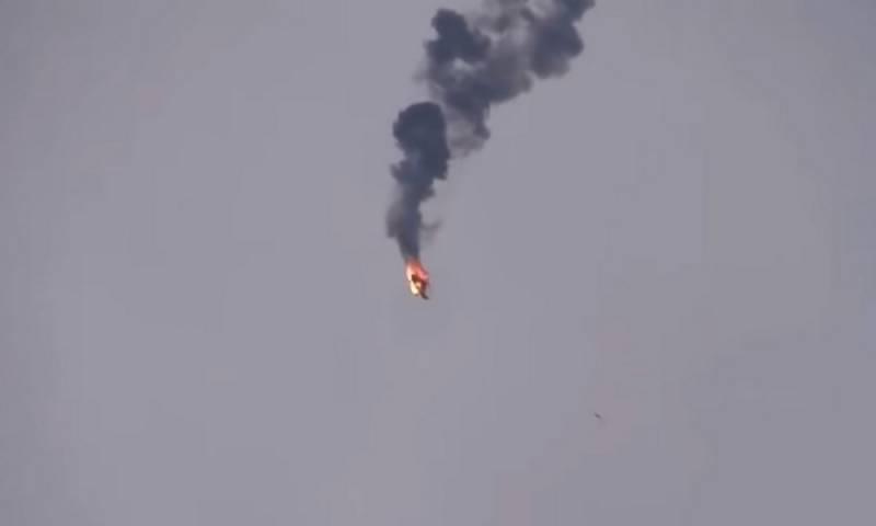Турецкие прокси сбили сирийский военный вертолет в Идлибе