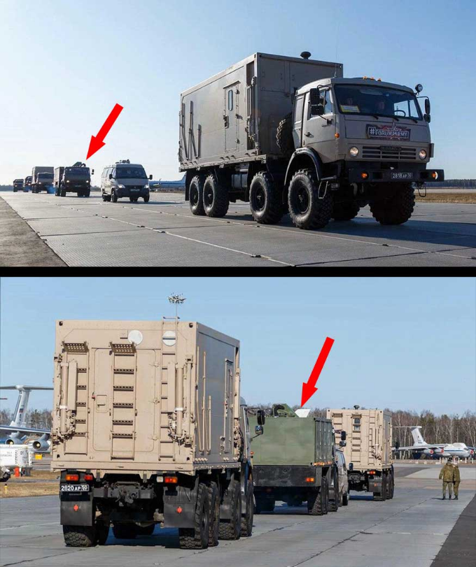 Rare cars: what kind of equipment loaded the Ministry of Defense for shipment to Italy