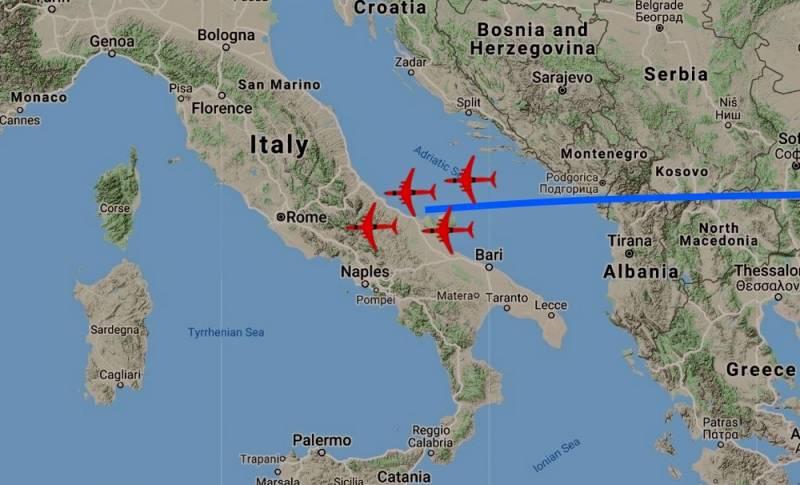 Союзники Италии не пропустили российские Ил-76 с медпомощью