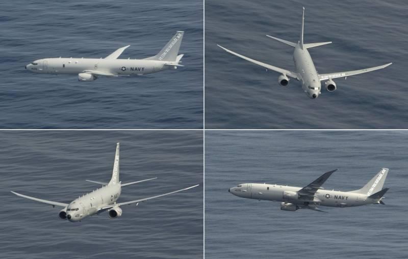 Истребитель Су-35 с Хмеймима прошел в 7 метрах от американского «Посейдона»