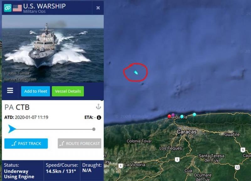 Венесуэла перебрасывает «Смерчи» и «Буки» к побережью для встречи иранских кораблей