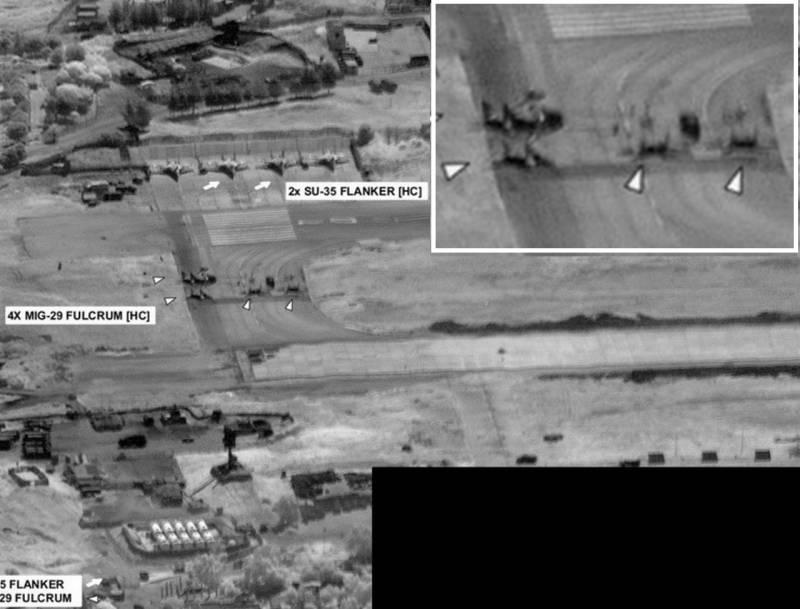АФРИКАНСКО КОМАНДВАНЕ НА САЩ :  Су-24 и Су-34, МиГ-29 и Су-35 СА В ЛИБИЯ /СНИМКИ/
