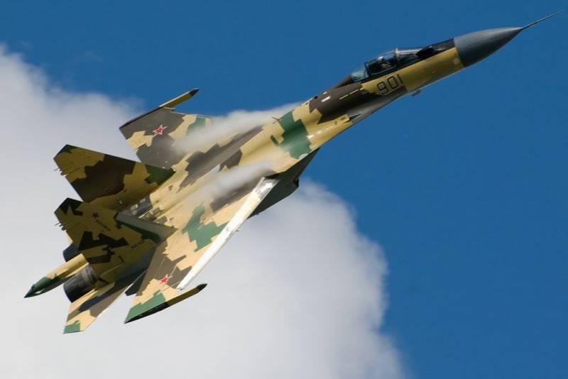 СМИ о действиях Су-35: Пентагон может остановить русских без единого выстрела