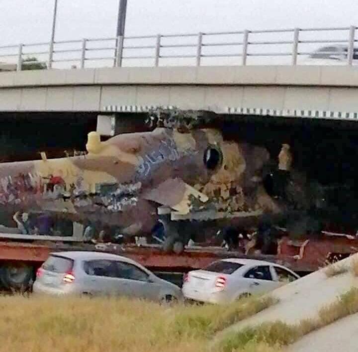 Libyan militants killed Mi-35 helicopter captured from Haftar