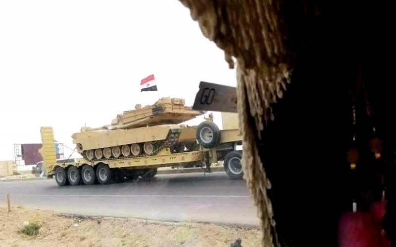 Египет вступает в войну: колонны танков «Абрамс» идут на Ливию