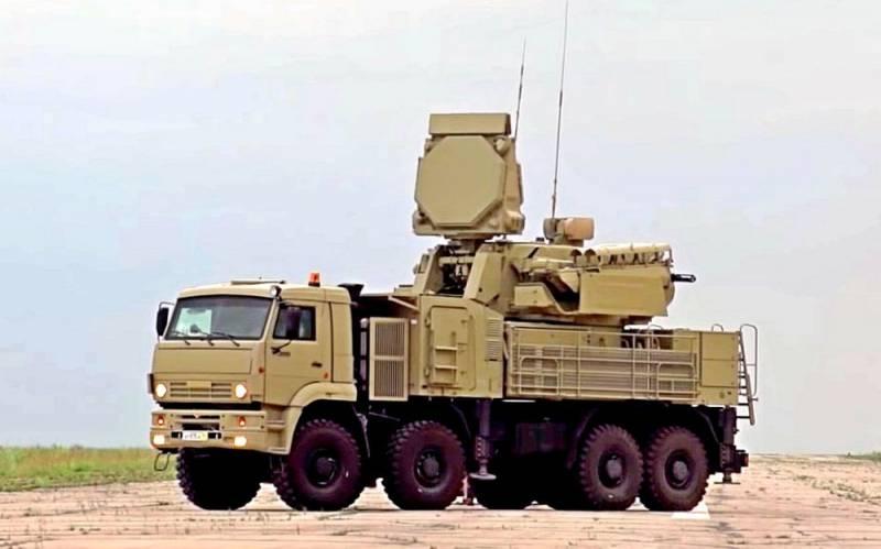 Ливийский «Панцирь-С1» уничтожил турецкий БПЛА в прямом эфире