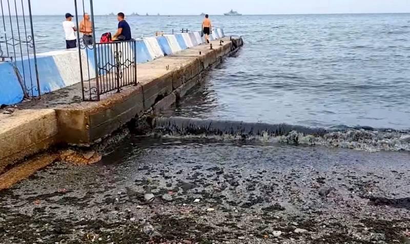 Слив нечистот: россиян на черноморских курортах ждет неприятная реальность