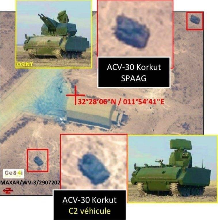 "Turkish ""analogue"" of the Russian ""Pantsir-C1"" air defense system first spotted in Libya"