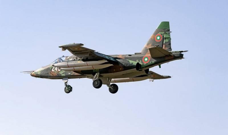 В Болгарии переживают по поводу возвращения из Беларуси модернизированных Су-25