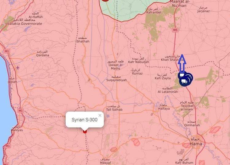 Under escort of Russian military: Turks evacuate military equipment from Hama