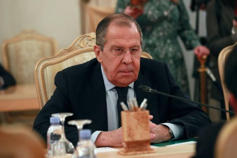 Лавров выступил с предупреждением: Общение с Европой может быть прекращено