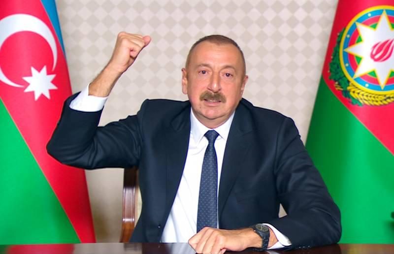 Алиев заявил об уничтожении двух стратегических комплексов «Ярс» в Карабахе