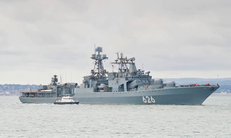 ВМС России взяли под охрану танкеры в Средиземноморье, которые ранее грабила Британия