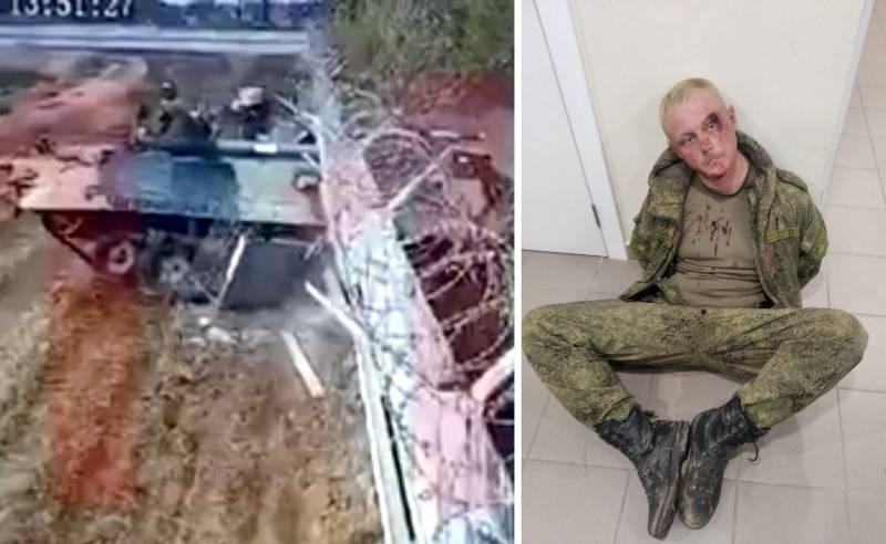СМИ США: Пьяные русские протаранили стену на своей БМП-3