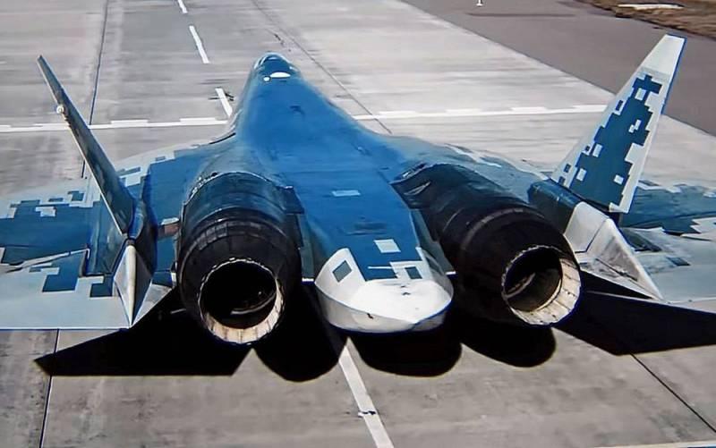 Назван ресурс авиадвигателя для истребителя Су-57