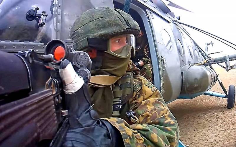 Россия развертывает полевой лагерь на границе Армении и Карабаха