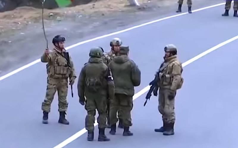 Российские миротворцы не пропустили военнослужащих Азербайджана