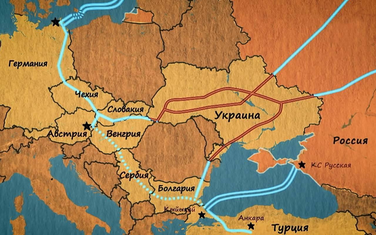 俄罗斯关闭欧洲毒气圈
