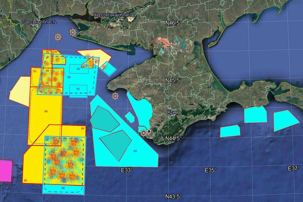 Russia imposes restrictions off the coast of Crimea due to NATO exercises