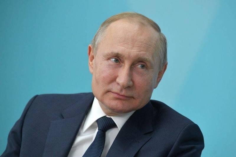 Путин назвал время подлета ракет противника от Харькова и Днепропетровска