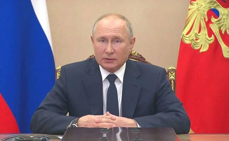 Die Welt: Путин начал мыслить категориями военного времени