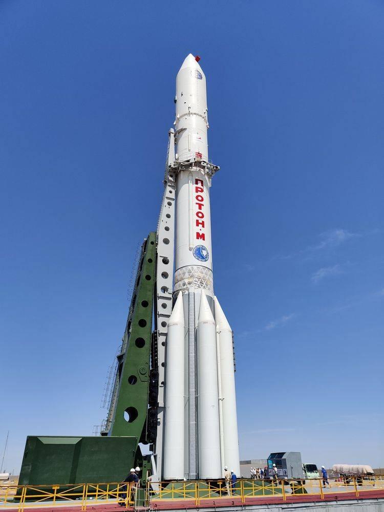 """Fırlatma rampasındaki roket: """"Bilim"""" modülü yörüngeye gönderildi"""