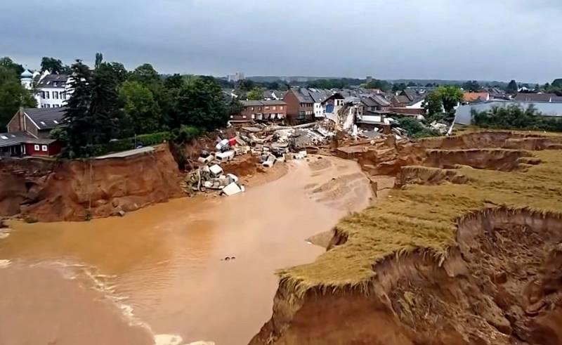 Виновником наводнения в Германии может быть назначена Россия