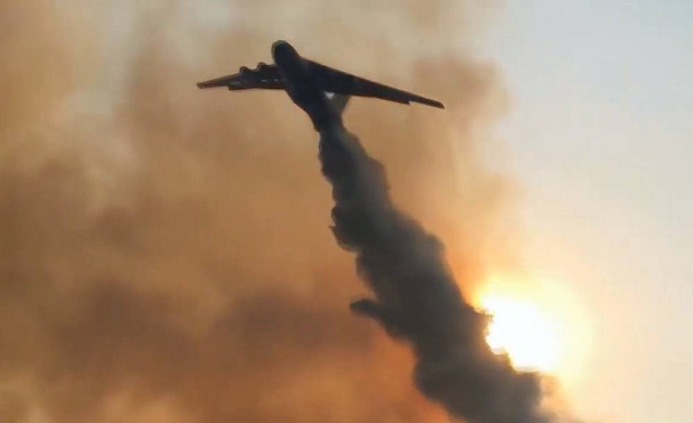 Why are Russian planes extinguishing burning Turkey and not the Russian taiga?