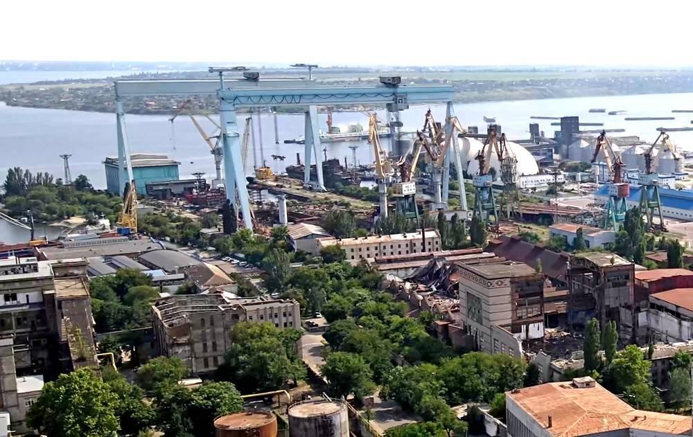 黑海造船厂。 乌克兰又失去了一座巨型工厂