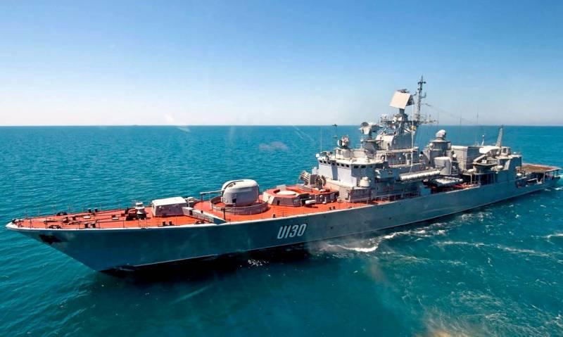 Украина теряет свой последний боевой корабль