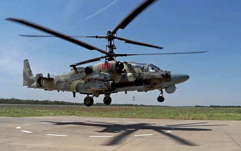 ВКС подняли в воздух боевые вертолеты на фоне слов Эрдогана о «последней капле» терпения на севере Сирии