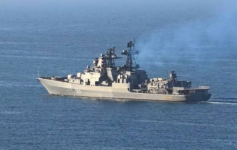 «Плавучий металлолом»: поляки высмеяли инцидент между кораблями России и США